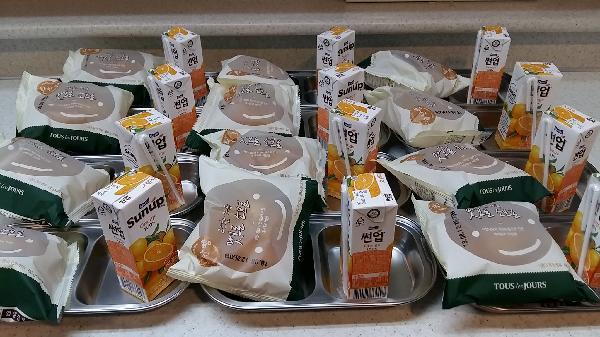 맛있는 빵, 착한 빵 잘 먹었습니다~^^