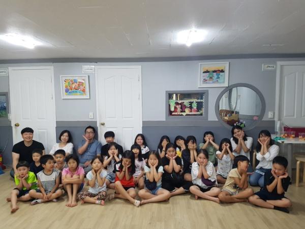 도너스캠프와 함께하는 건강한 여름나기~감사합니다.