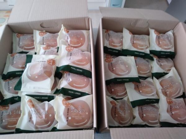4월 마음이 따뜻해지는 착한 빵이 도착했습니다.