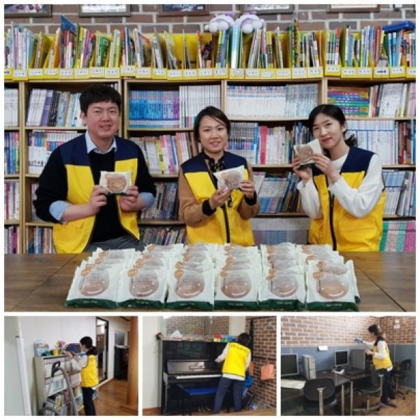 [봉사활동/간식지원] 뚜레쥬르 착한빵 봉사활동(4월)
