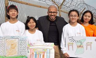 평화를 그리는 작가 '엘시드'와 함께 한 <인성학교 DMZ>