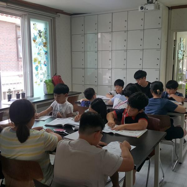 꿈의학교 아이들의 불 타오르는 학습열정 2학기에도 쭈욱~!!