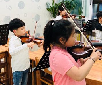 또 다른 도전, 바이올린