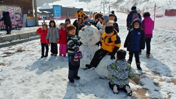 [당일캠프] 아이들에게 스키장의 추억을 선물해주세요~