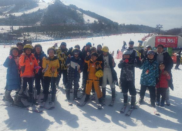 [2박3일] 문화체험 소외지역 아동,청소년들의 스키 무한도전