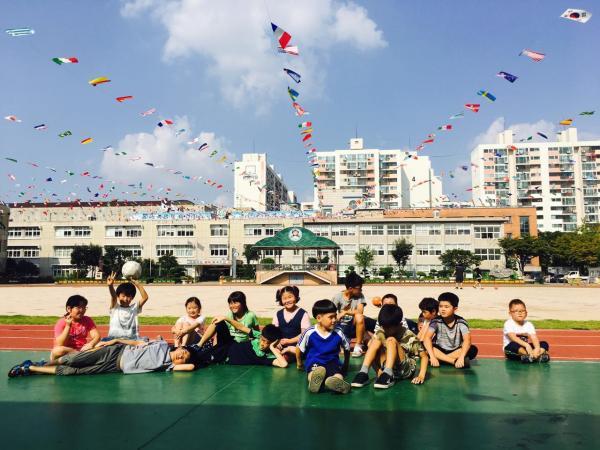 친구들과 함께 하는 즐거운 체육시간~