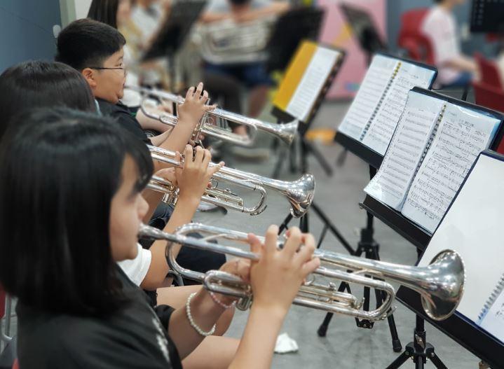 트럼펫파트연습